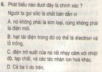 Bài 6 trang 106 sgk vật lí 11
