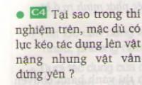 Bài C4 trang 22 sgk vật lí lớp 88