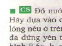 Câu 5 - trang 30 SGK vật lý 8
