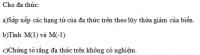 Bài 63 trang 50 sgk toán 7 tập 2