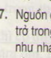 Bài 7 trang 54 - Sách giáo khoa vật lí 11