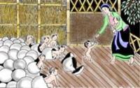 Đóng vai nhân vật Lạc Long Quân kể lại chuyên Con Rồng Cháu Tiên.