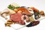 Kể tên một số loại thức ăn chứa nhiều chất đạm mà em biết