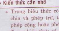 Lý thuyết tiết 10 : Luyện tập (trang 10 SGK)
