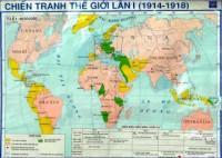 Lập niên biểu về các sự kiện lớn của Chiến tranh thế giới thứ nhất