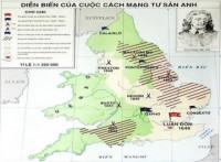 Trình bày diễn biến và kết quả của Cách mạng tư sản Anh