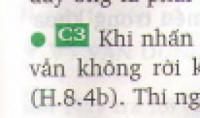Câu 3 - trang 29 SGK vật lý 8