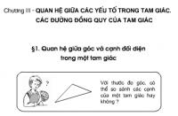 Bài 1 trang 55 sgk toán 7 tập 2