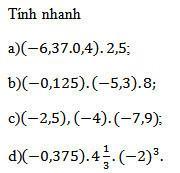 Bài 97 trang 49 sgk toán 7 tập 1