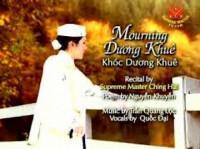 Khóc Dương Khuê - Nguyễn Khuyến.