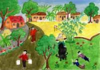 Tập làm văn: Cấu tạo của bài văn tả cảnh trang 11 sgk Tiếng Việt lớp 5 tập 1