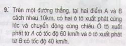 Bài 9 trang 15 sgk Vật lí 10