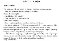Giải bài tập Bài 3 trang 8 SGK GDCD lớp 6