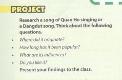 Project - trang 35 Unit 3 SGK Tiếng Anh 10 mới