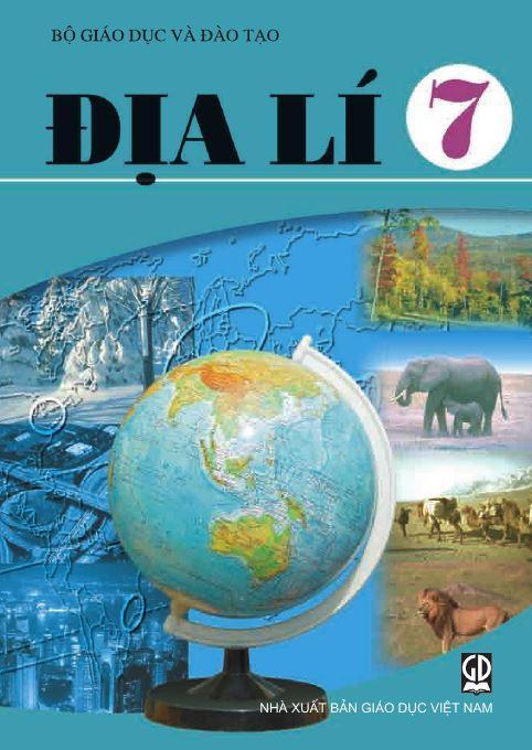 Sách giáo khoa Địa lí lớp 7